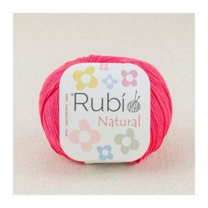 rubi natural rojo coral