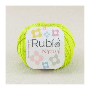 rubi natural verde pistacho