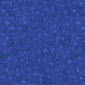 tela triangulos azul basically