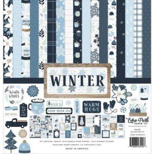 kit papeles colección winter