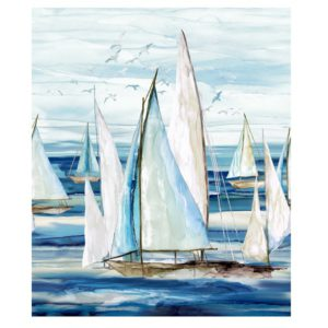 panel barcos sail away