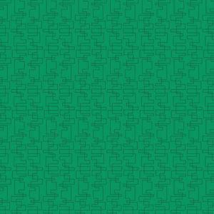 Tela Mini Estampada verde hierba