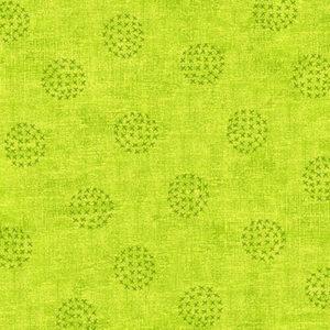 Tela Círculos Verde