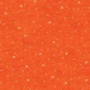 tela cruces naranja