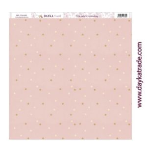 tela para scrap rosa estrellas