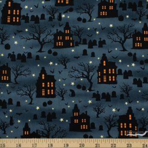tela casas spooky night